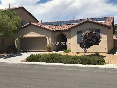 Las Vegas Single Family Home Under Contract - No Show: 7518 Stray Horse Avenue