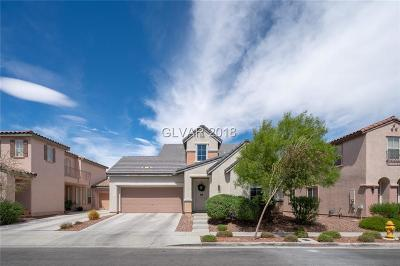 Las Vegas Single Family Home Under Contract - No Show: 2273 Cookman Lane