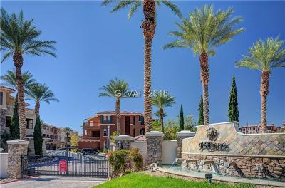 Henderson Condo/Townhouse For Sale: 85 Luce Del Sole #2
