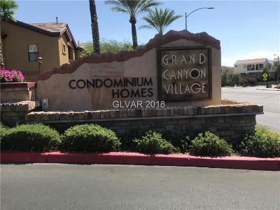 Condo/Townhouse For Sale: 8250 Grand Canyon Drive #2122
