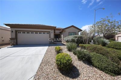 North Las Vegas Single Family Home For Sale: 2713 Lark Sparrow Street