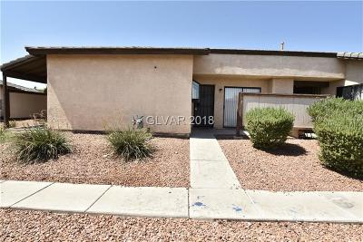 North Las Vegas Condo/Townhouse For Sale: 3052 St George Street #D