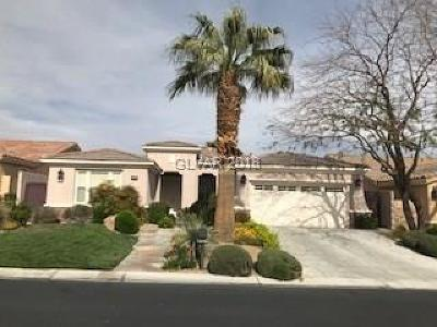 Red Rock Cntry Club At Summerl Single Family Home For Sale: 3288 Rabbit Brush Court