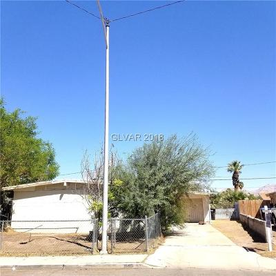 North Las Vegas Single Family Home Under Contract - No Show: 1640 Patricia Street