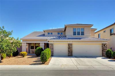 North Las Vegas Single Family Home For Sale: 1921 Bluff Knoll Court