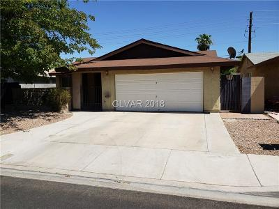 Las Vegas NV Single Family Home For Sale: $248,500