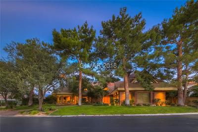 Single Family Home For Sale: 8701 Canyon View Drive