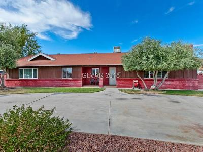 Las Vegas Single Family Home For Sale: 4060 Judson Avenue