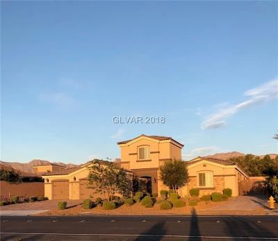 Las Vegas Single Family Home For Sale: 5945 Eula Street