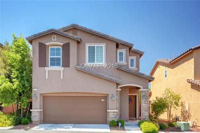 Las Vegas Single Family Home For Sale: 8113 Begonia Blush Drive