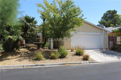Las Vegas Single Family Home For Sale: 4754 East Montara Circle