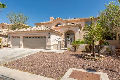 Las Vegas Single Family Home For Sale: 150 Painted Mountain Drive