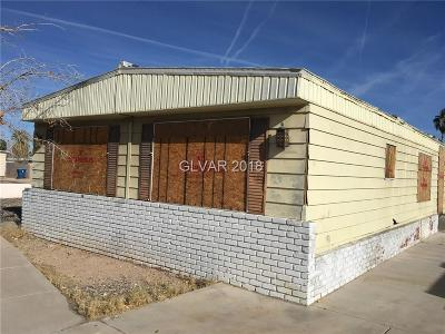 Las Vegas Manufactured Home For Sale: 3578 Becerro Drive