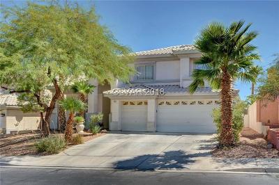 Las Vegas, North Las Vegas, Henderson Single Family Home For Sale: 752 Descartes Avenue