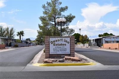 Las Vegas Manufactured Home For Sale: 3353 Gulf Shores Drive