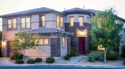 Las Vegas Single Family Home For Sale: 9368 Bronze River Avenue