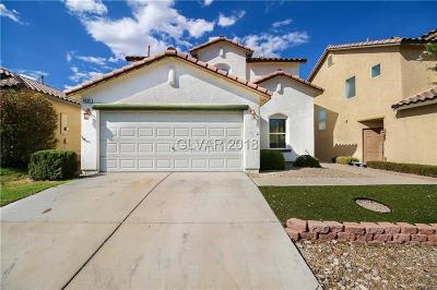 Las Vegas Single Family Home For Sale: 8660 Water Bucket Avenue