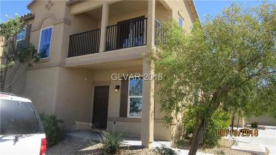 Las Vegas Single Family Home For Sale: 4626 Lime Straight Drive