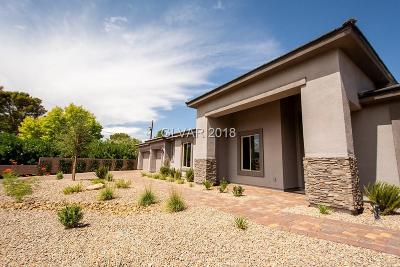 Las Vegas NV Single Family Home For Sale: $643,000