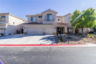 Las Vegas Single Family Home For Sale: 7419 Wild Horse Mesa Court