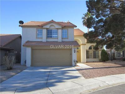 North Las Vegas Single Family Home For Sale: 3905 Fortress Drive