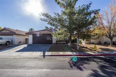 Las Vegas NV Single Family Home Sold: $255,000