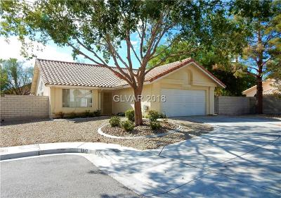 North Las Vegas Single Family Home Under Contract - Show: 5647 Morning Song Circle