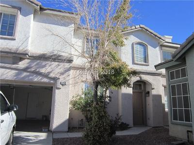 North Las Vegas Single Family Home For Sale: 5406 Lazy Meadow Court