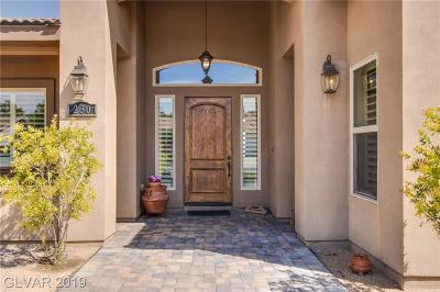 henderson Single Family Home For Sale: 230 East Chaparral Drive