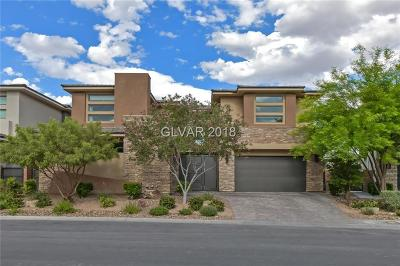 Summerlin Village 18 Parcel B, Summerlin Village 18 Parcel C, Summerlin Village 18 Parcel D, Summerlin Village 18 Parcel E, Summerlin Village 18 Parcel L, Summerlin Village 18 Phase 1 U, Summerlin Village 18 Ridges Pa, Summerlin Village 18 Ridges Pc, Summerlin Village 18 The Ridge, Summerlin Village 18-Parcel H Single Family Home For Sale: 76 Grey Feather Drive Drive