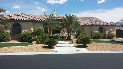 Las Vegas Single Family Home For Sale: 6120 Matisse Avenue