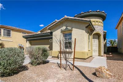 North Las Vegas NV Single Family Home Under Contract - No Show: $263,000