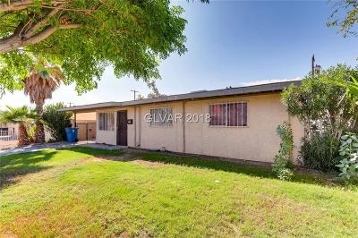 North Las Vegas Single Family Home Under Contract - No Show: 1315 Stanley Avenue