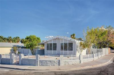 Las Vegas Manufactured Home For Sale: 4647 Largo Way