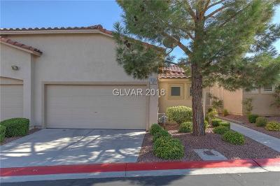 Las Vegas Condo/Townhouse For Sale: 9705 Templemore Avenue #101