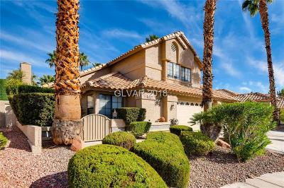 Las Vegas Single Family Home For Sale: 2904 Ivory Reef Court