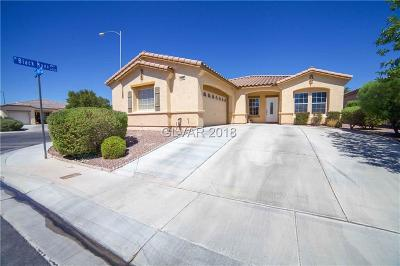 North Las Vegas Single Family Home For Sale: 1408 Lazy Hill Ranch Way