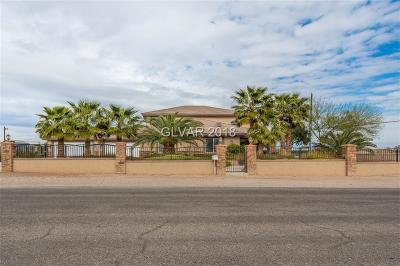 Las Vegas Single Family Home For Sale: 5870 Oquendo Road