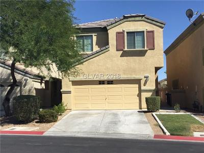 North Las Vegas Single Family Home Under Contract - No Show: 6460 Butterfly Sky Street