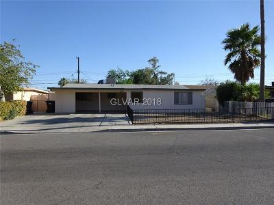 NORTH LAS VEGAS Single Family Home For Sale: 1317 Stanley Avenue