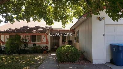 Single Family Home For Sale: 2599 Bolero Avenue