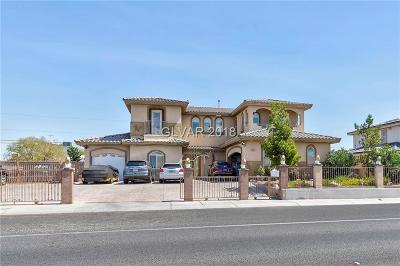 North Las Vegas Single Family Home For Sale: 3424 Simmons Street