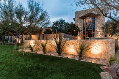 Las Vegas Single Family Home For Sale: 10 Promontory Ridge Drive