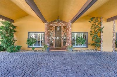 Single Family Home For Sale: 2850 Mojave Road #House #E
