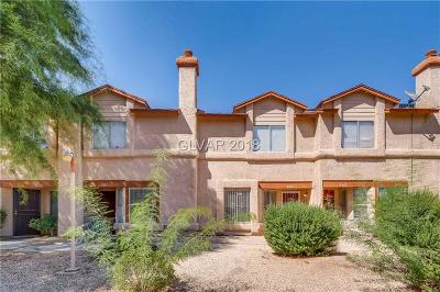North Las Vegas Condo/Townhouse For Sale: 3881 Fitzpatrick Drive