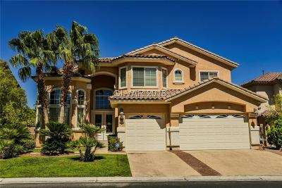Las Vegas Single Family Home For Sale: 5188 Villa Vecchio Court