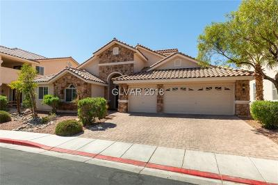 North Las Vegas Single Family Home Under Contract - No Show: 7113 Manzanares Drive