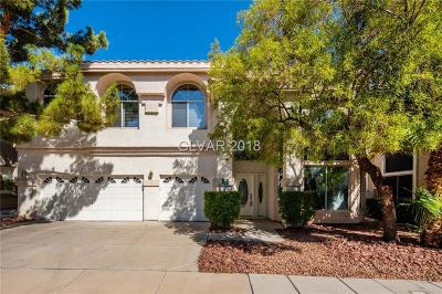 Henderson NV Single Family Home For Sale: $550,000