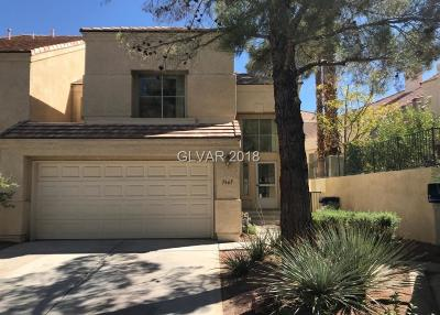 Las Vegas Condo/Townhouse For Auction: 7865 Bluewater Drive