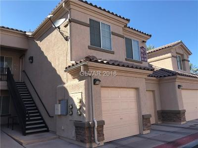 North Las Vegas Condo/Townhouse For Sale: 6675 Abruzzi Drive #103